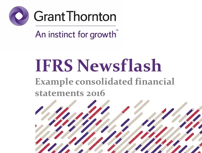 IFRS Example Financial Statements - Ifrs financial statements template