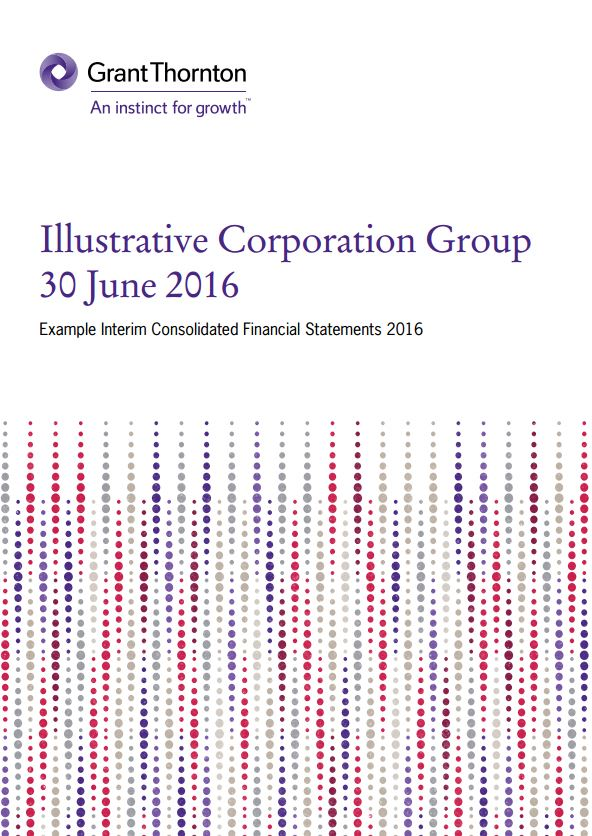 IFRS Example Interim Consolidated Financial Statements 2016